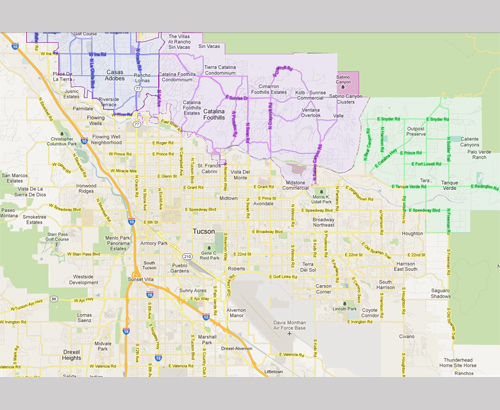Annexing Unincorporated Tucson Occupied Tucson Citizen