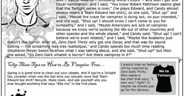 the canaries zero dark thirty