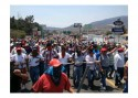 Dissident teachers hold mass protest in Guerrero State against President Nieto's education reform.
