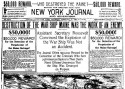 New York Journal headline