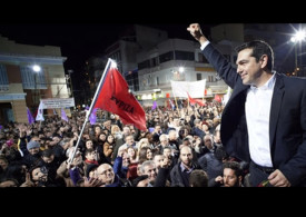 Picture of Syriza election rally