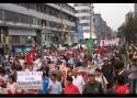 Demonstration in Lima, Peru