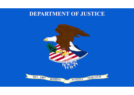 U.S. Department of Justice Flag