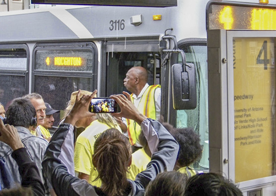 Bus Riders Union Engages in Direct Action (Photo Essay +