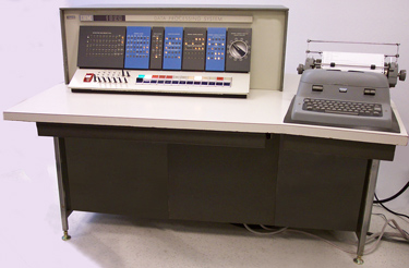 Picture of IBM 1620 Model 1 computer circa 1967