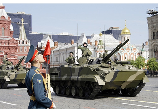 Picture of 2008 Victory Day Parade in Moscow