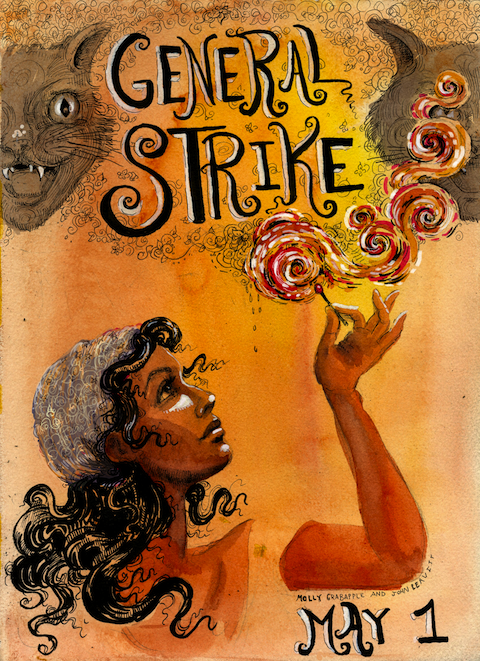 General Strike Match by Molly Crabapple