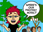 """6 Month Occuversary: """"Where's our protest music?"""""""