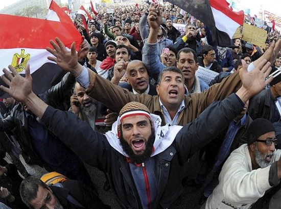 Protests in Egypt in 2011