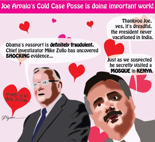 Mindfuck Arizona #4: Joe Arpaio's Cold Case Posse