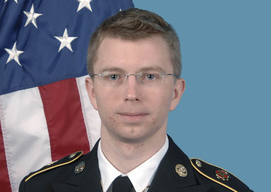Department of Army Photo of Private First Class Bradley Manning
