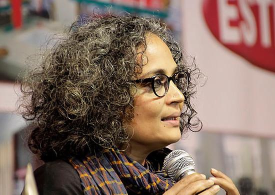 Arundhati Roy visits Guwahati during 14th North East Book Fair on December 30, 2012