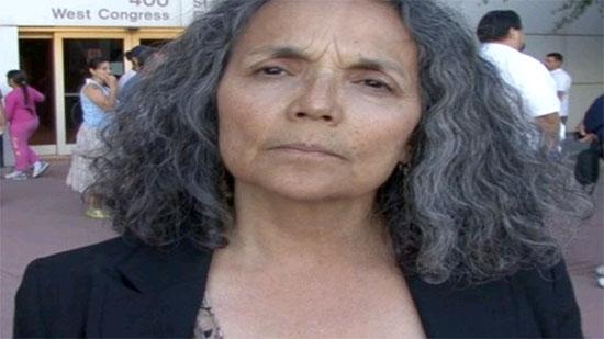 Close-up of Isabel Garcia