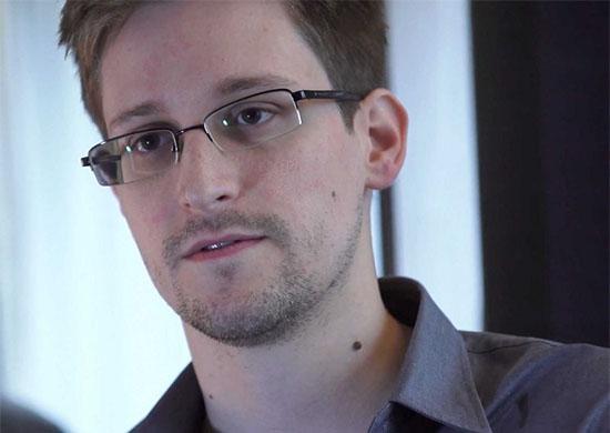 Photo of Edward Snowden