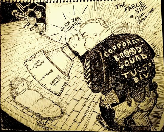 Persimmons cartoon