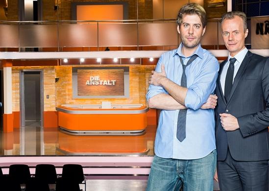 Photo from German TV Program Die Anstalt