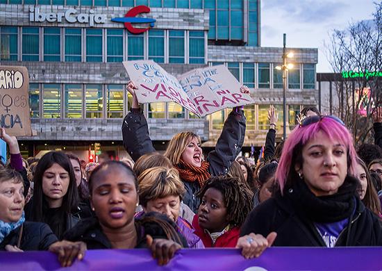 2018 Women's Strike in Spain